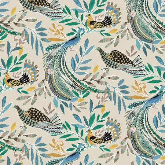 Обои JWall Paraiso 50300 райские птицы разноцветные