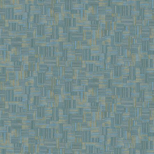 Обои JWall Paraiso 50336 под геометрический текстиль бирюзовые