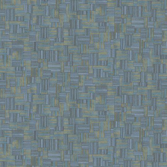 Обои JWall Paraiso 50337 под геометрический текстиль темно-синие