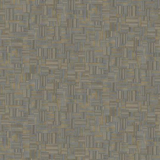 Обои JWall Paraiso 50338 под геометрический текстиль ежевичные