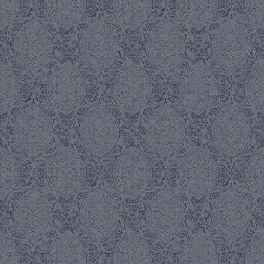 Шпалери Sirpi JV Kerala 601 5622 класичні візерунки сині