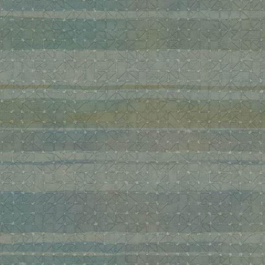 Обои Sirpi JV Kerala 601 5641 горизонтальные полосы бирюзовые