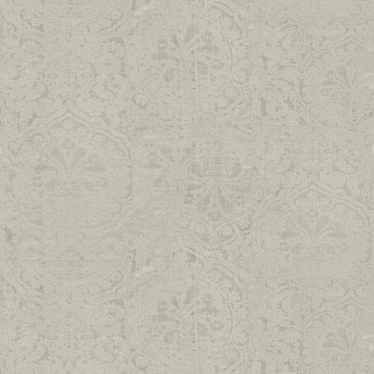 Обои Sirpi JV Kerala 601 5651 затертая ткань с гобеленами серая