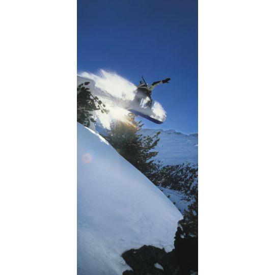 Фотообои Komar 91092 сноубордист 92 х 220 см