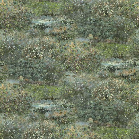 Метрові шпалери Rasch Maximum 16 915822 квітучі луки зелені