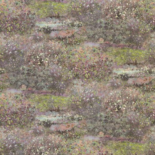 Метрові шпалери Rasch Maximum 16 915839 квітучі луки фіолетово-зелені