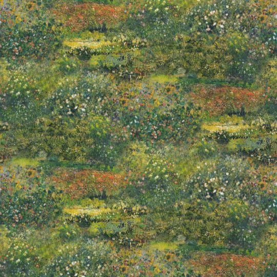 Метрові шпалери Rasch Maximum 16 915846 квітучі луки яскраво-зелені