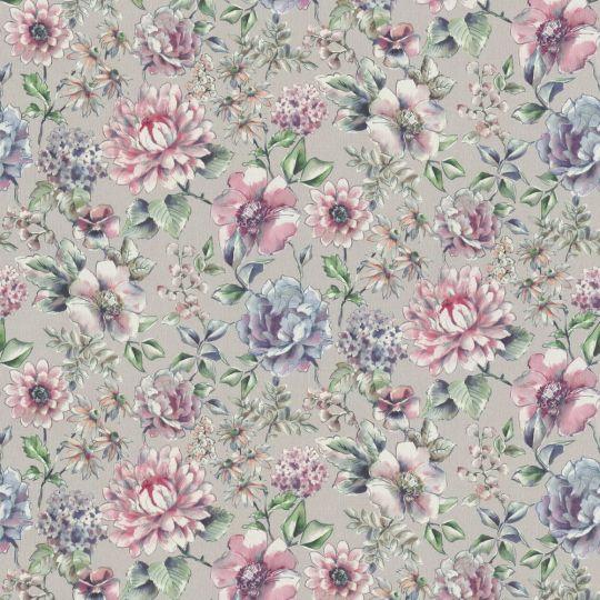 Метрові шпалери Rasch Maximum 16 916423 квітучі квіти акварельними рожеві
