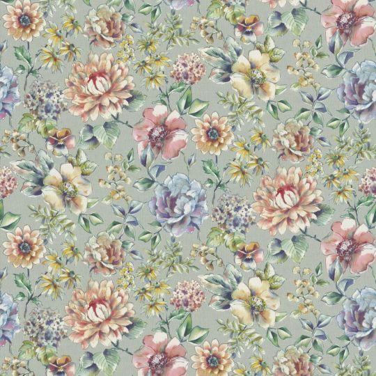 Метрові шпалери Rasch Maximum 16 916447 квітучі квіти аквареллю різнокольорові