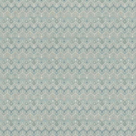 Метрові шпалери Rasch Maximum 16 917222 геометричний патерн синьо-блакитний