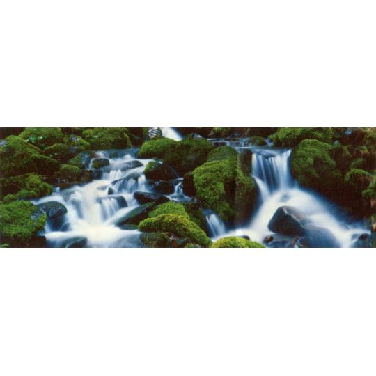Фотообои Komar 94066 лесной водопад 388 х 135 см