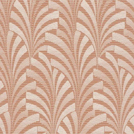 Шпалери Grandeco Phoenix A53301 арт-деко помаранчеві