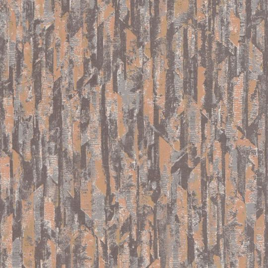Шпалери Grandeco Phoenix A53602 під лофт оранжеие-коричневі