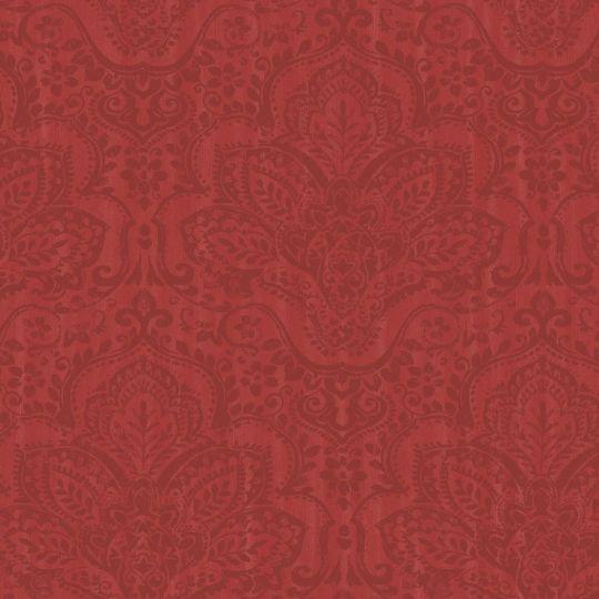 Обои Casadeco Ambassade AMBA81298101 гобелены красные
