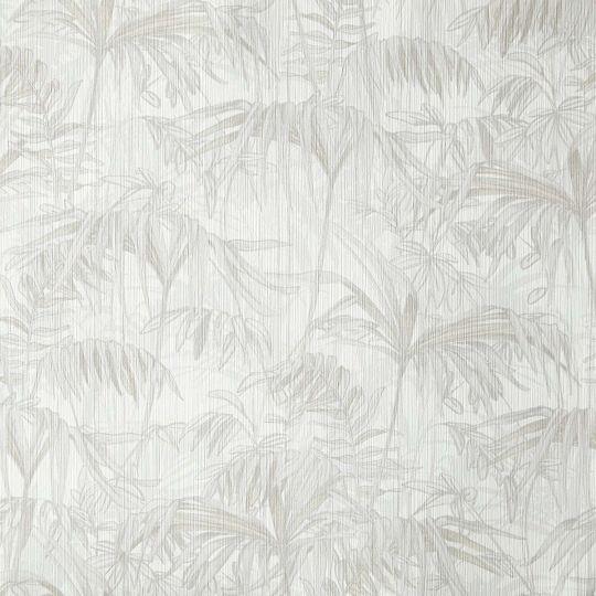 Шпалери Caselio Amazonia AMZ66441001 тропічний ліс світло-сірий