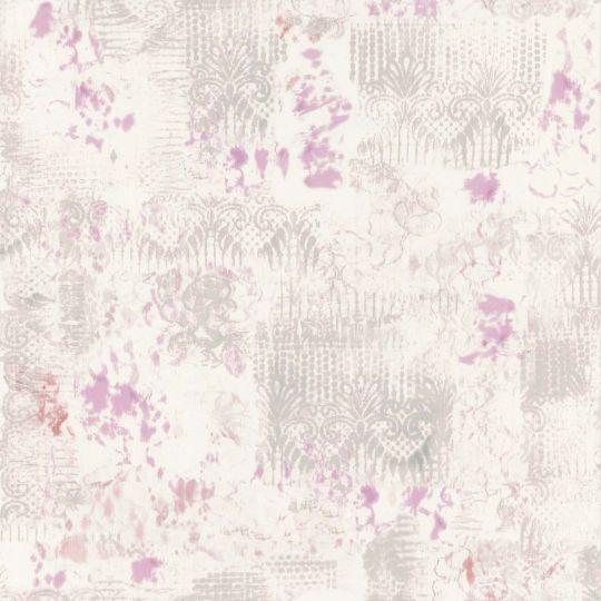 Шпалери Caselio Arty ARY67015090 абстракція сіро-фіолетова