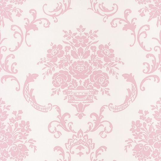 Обои Caselio Ashley ASHL69344003 амфора бело-розовая