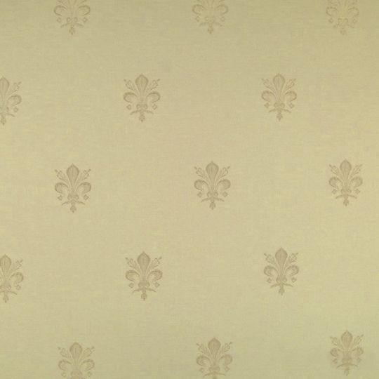 Текстильні шпалери Alberto Pulino Alberto ATP12 бежева королівська лілія Італія ширина 1,18 м