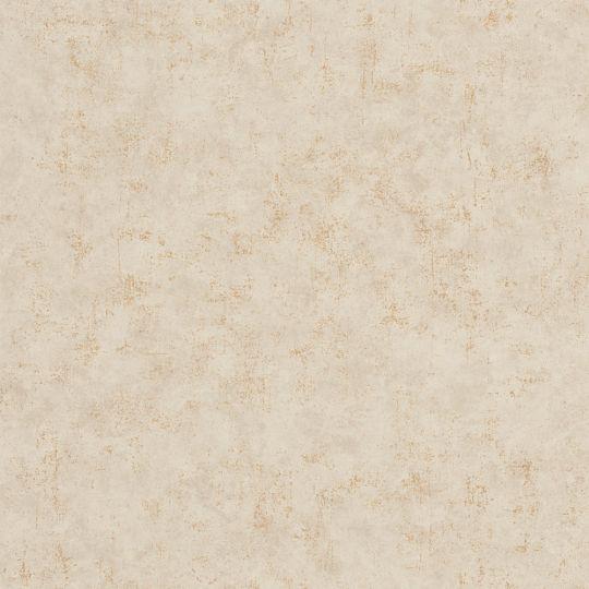 Обои Caselio Beton BET101491127 под бежевый бетон с золотинкой