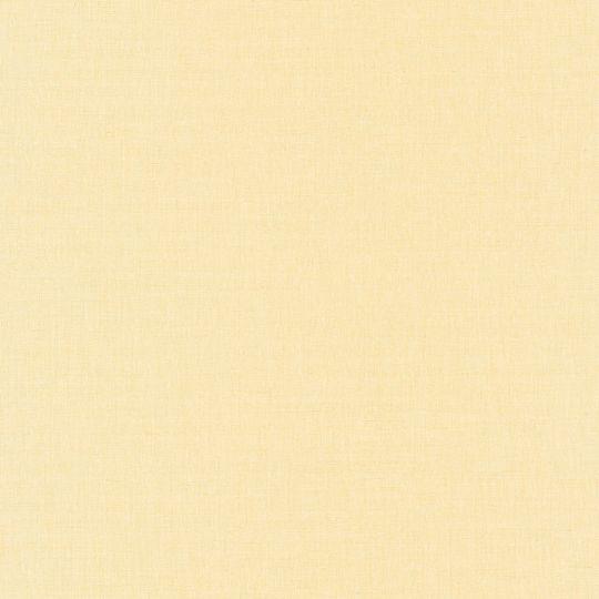 Обои Caselio Au Bistrot d'Alice BIS68522259 однотонные светло-желтые
