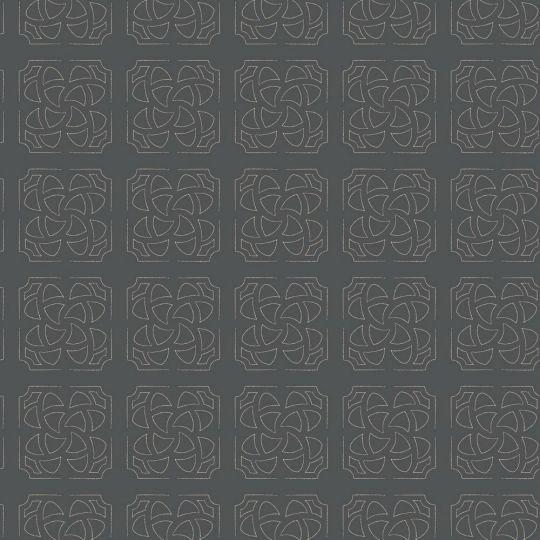 Шпалери Casadeco Botanica BOTA85939710 орнамент чорний