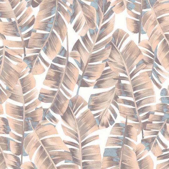 Шпалери Casadeco Botanica BOTA85944167 листя рожеве