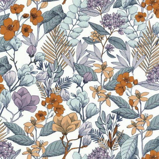 Шпалери Caselio Flower Power FLP101855060 квітучий сад синій
