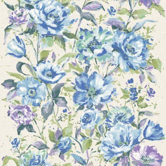 Обои Grandeco Fiore FO3004 цветочная живопись