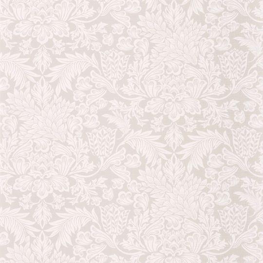 Обои Casadeco Five o'clock FOCL85811234 с узорами бело-серые