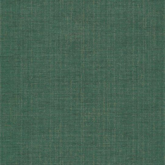 Шпалери Casadeco Five o'clock FOCL85847401 однотонні зелені з золотими прожилками