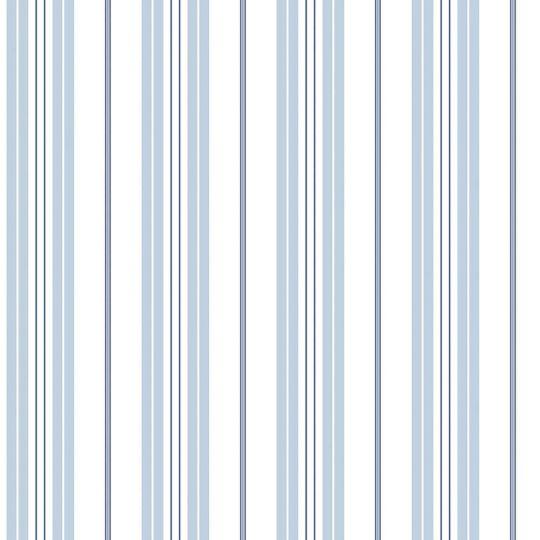 Шпалери Galerie Deauville 2 G23064 смужка біло-блакитна з синім