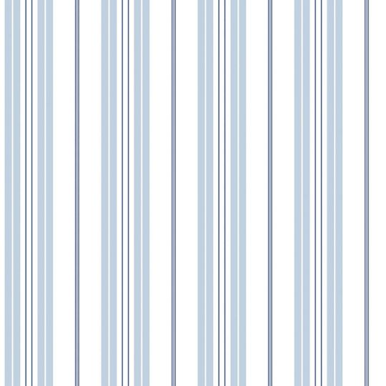 Обои Galerie Deauville 2 G23064 полосочка бело-голубая с синим