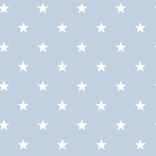 Обои Galerie Deauville 2 G23100 белые звездочки на голубом