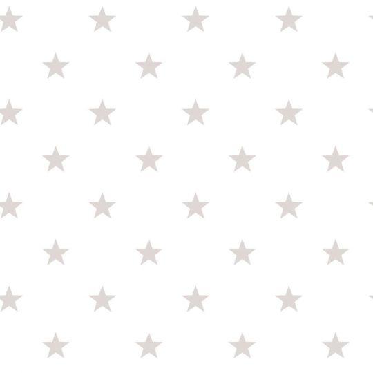 Обои Galerie Deauville 2 G23103 серые звездочки на белом