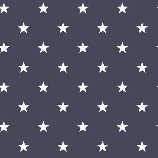 Обои Galerie Deauville 2 G23107 белые звездочки на темно-синем