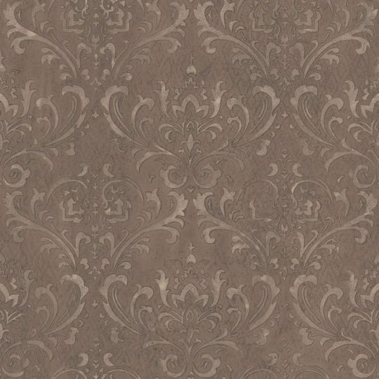 Обои Galerie Steampunk G45171 дамаск коричневый