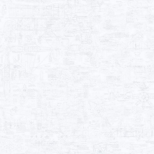 Шпалери Galerie Steampunk G56208 креслення білі