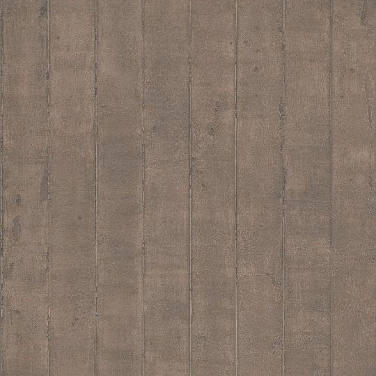 Обои Galerie Steampunk G56240 полоска бетон коричневый