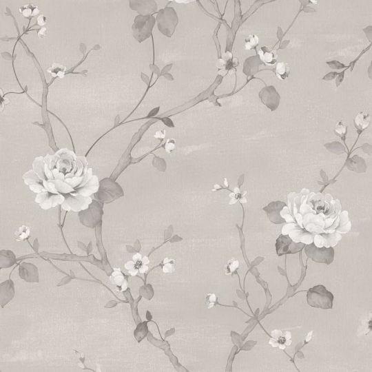 Шпалери Galerie Palazzo G67603 троянди сірі