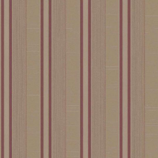 Шпалери Galerie Palazzo G67626 в смужку червоно-коричневі