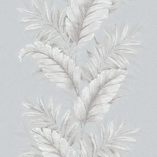Шпалери Galerie Palazzo G67648 листя сірі