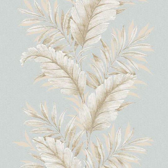 Шпалери Galerie Palazzo G67650 листя блакитні