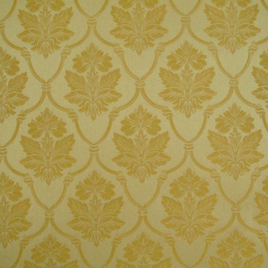 Текстильні шпалери Giardini Diana GGDD8326 класичні золоті Італія ширина 1,18 м