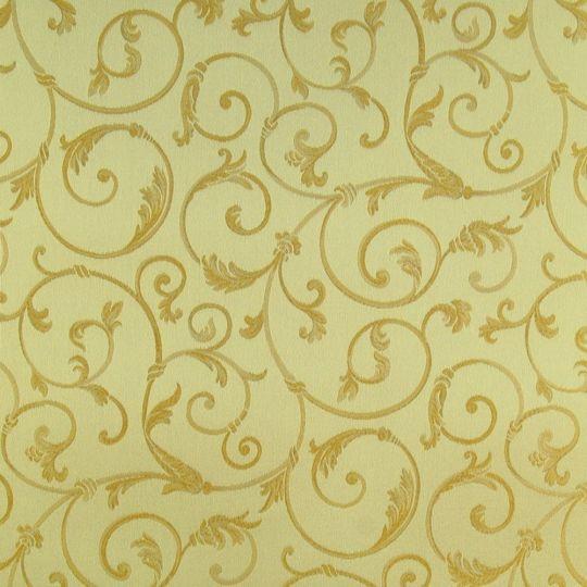 Текстильні шпалери Giardini Diana GGDD8330 золоті класичні візерунки Італія ширина 1,18 м