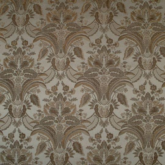 Текстильні шпалери Giardini Diana GGDD8371 гобелени коричневі Італія ширина 1,18 м