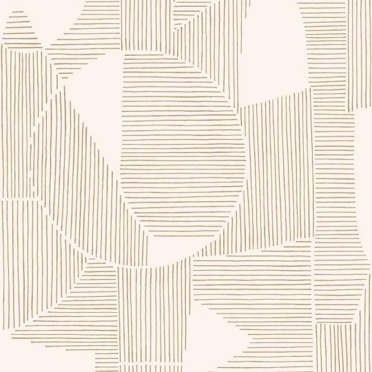 Шпалери Casadeco Gallery GLRY86121105 абстрактна графіка бежева