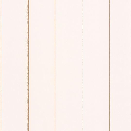 Шпалери Caselio Green Life GNL101720020 в золоту смужку білі