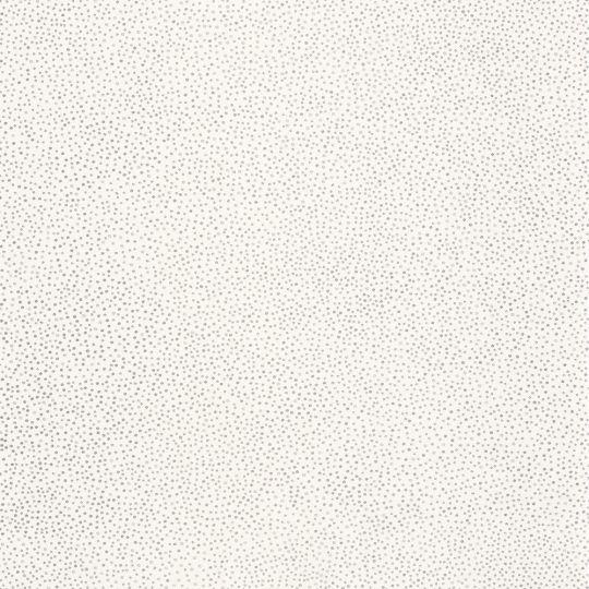 Шпалери Caselio Green Life GNL101730099 в срібну точку на білому