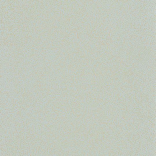 Шпалери Caselio Green Life GNL101736021 в золоту крапку блакитні