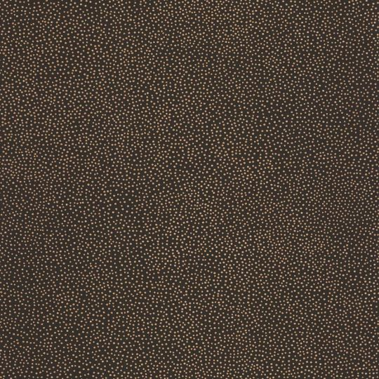 Шпалери Caselio Green Life GNL101739024 в золоту крапку чорні